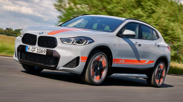 BMW X2 M Mesh Edition - front tracking