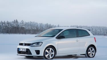 Volkswagen Polo R white static