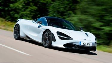 McLaren 720S - front action