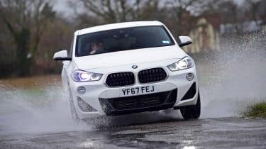 BMW X2 - front cornering