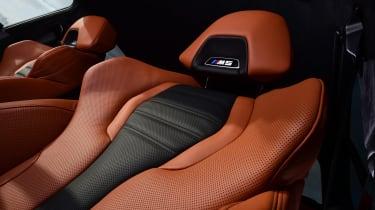 BMW M5 - seat detail