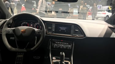 SEAT Leon Cupra R ST - interior