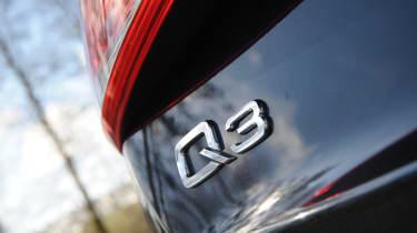 Audi Q3 2.0 TDI (2WD) badge