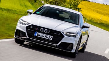 New Audi S7 Sportback - front action