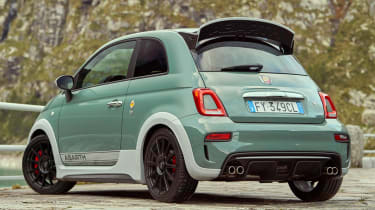 Abarth 695 70th Anniversario - rear