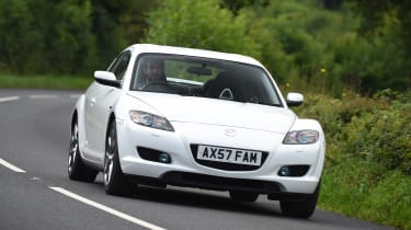 Mazda RX-8 - front action