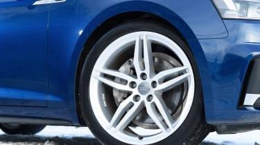 Audi A5 Sportback - wheel detail