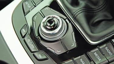 Audi A4 interface