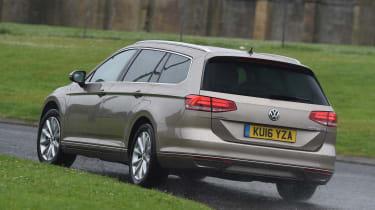 Long-term test review Volkswagen Passat Estate - rear cornering