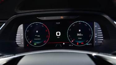 Skoda Octavia vRS diesel - dials