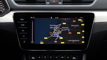 Skoda Superb iV - navigation