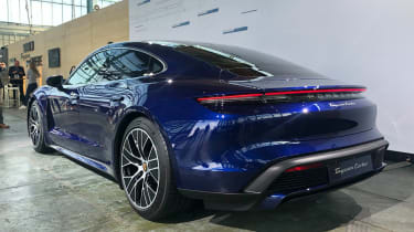 Porsche Taycan - reveal rear