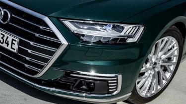 Audi A8 60 TFSI e - front detail