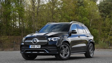 Mercedes GLE - front static