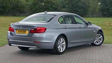 Used BMW 5 Series - rear