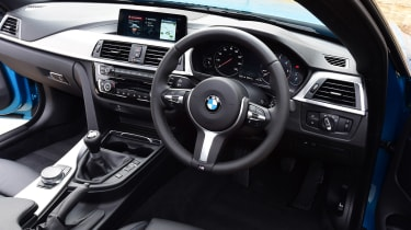 BMW 420d M Sport - interior