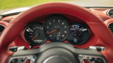 Porsche Boxster 25 Years - dials