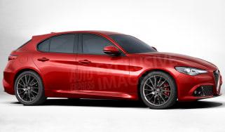 Alfa Romeo Giulietta RWD teaser