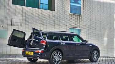 MINI Clubman - rear doors open