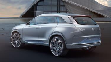 Hyundai FE Fuel Cell Concept - rear quarter