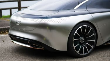 Mercedes EQS - rear detail