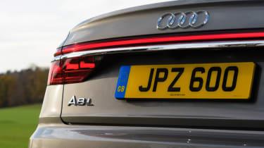 Audi A8 - rear detail