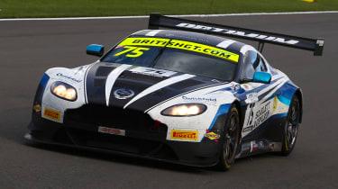 British GT 2018 - Aston Martin V12 Vantage front