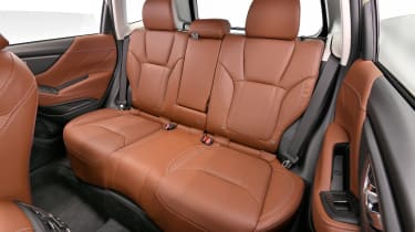 Subaru Forester - rear seats