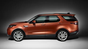 Land Rover Discovery 2017 - official studio side