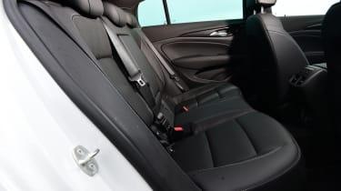 Vauxhall Insignia - rear seats