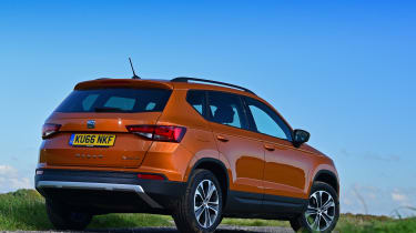 Long-term test review: SEAT Ateca - rear quarter