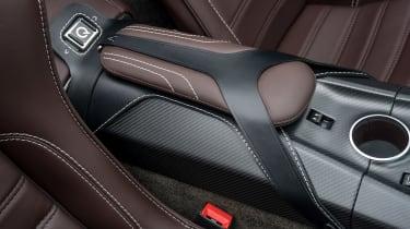 Aston Martin Vantage GT12 Roadster - armrest