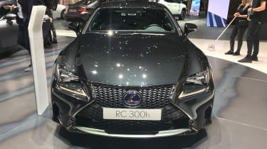 Lexus RC 300h F Sport Black Edition - front