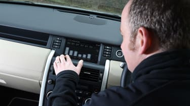 Land Rover Discovery Sport long-term - centre console/James Disdale
