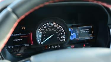 Ford Ranger Thunder - dials