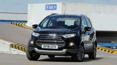 Used Ford EcoSport - front cornering