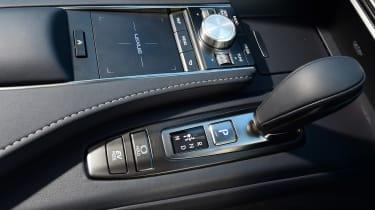 Lexus LC 500h - centre console