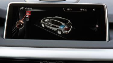 BMW X5 eDrive display