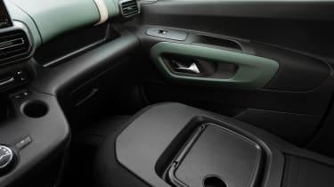 Citroen Berlingo - front seat down