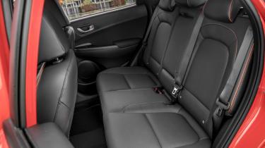 Hyundai Kona review - rear seats