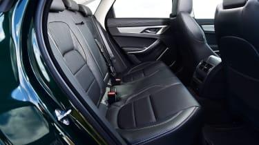 Jaguar XF P250 - rear seats