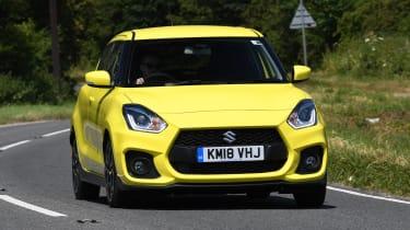 Suzuki Swift Sport long-term test - front