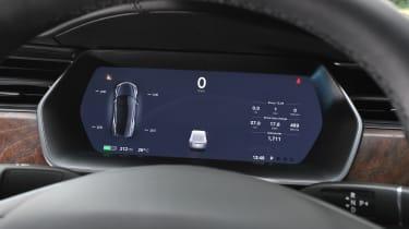 Tesla Model S - dash