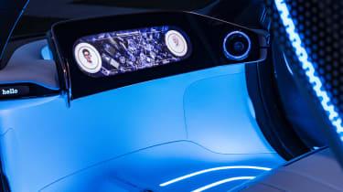 Smart Vision EQ ForFour concept - dash