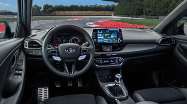 Hyundai i30 N cabin