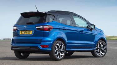 Ford EcoSport - rear static