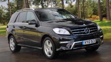 Mercedes ML 350 CDI front tracking