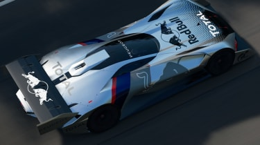 Peugeot L750 R Hybrid Vision Gran Turismo - top view