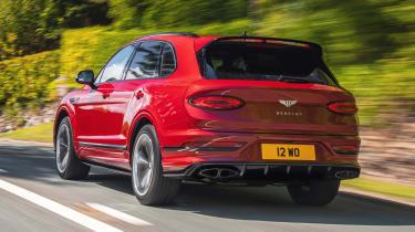 Bentley Bentayga S - rear