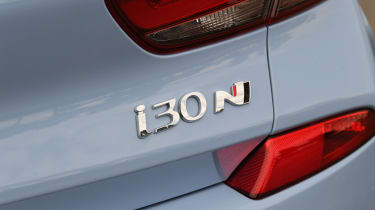 Hyundai i30 N - badge